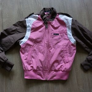 Iconic Vintage Members Only Pink Bomber Size S
